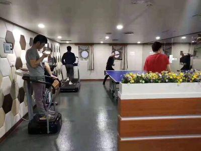 船上健身房